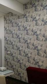 UPAH PASANG KERTAS DINDING l pakar wallpaper