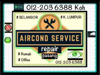 Aircond servicing KL&SEL AIR CON air cond
