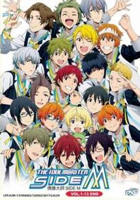 DVD ANIME The IdolmSter Side M Vol.1-13 End
