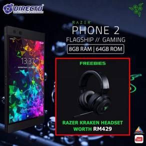 Razer PHONE 2 (MYset)PERCUMA RAZER KRAKEN Headset