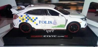 Diecast 1.32 honda civic type R polis