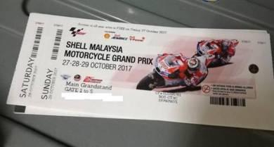 Moto GPrix Main Grandstand Tickets