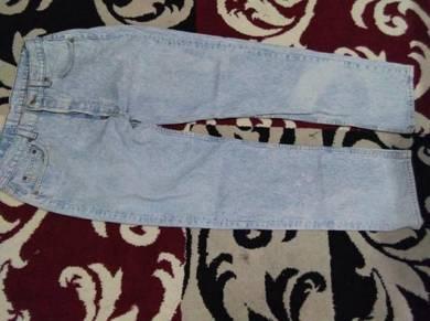 Levis 501 jeans acid wash size 36x32
