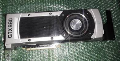 NVIDIA GeForce GTX 980 4GB used Graphics Cards exc
