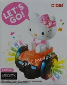 Hello Kitty Bump & Go Balance Car Unique Spin Ligh