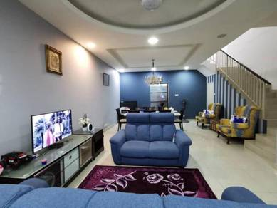 FACING PLAYGROUND 2 Storey Terrace, SP1 - Bdr Saujana Putra RENOVATED