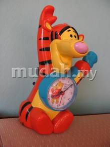 Genuine Tiger Toy Table Clock