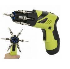 Multi purpose battery screwdriver