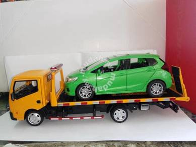 Diecast towing truck