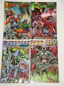 SPAWN-WILDCATS. Devil Day. complete set
