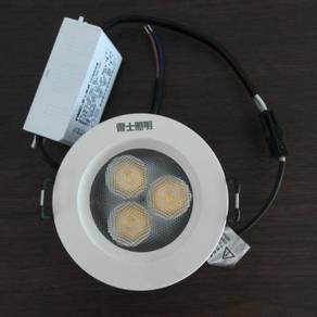 Nvc led eyeball 133 4w 3000k/4000k/6500k