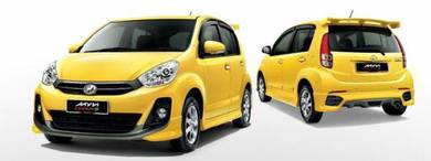 Perodua myvi extreme bodykit with paint body kit