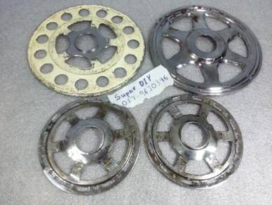 Cover lantai basikal chopper sprocket freewheel