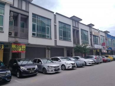 2 sty shop for sale, bandar indahpura, kulai, johor