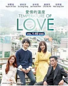 DVD Korean Drama Temperature Of Love Vol.1-40 End