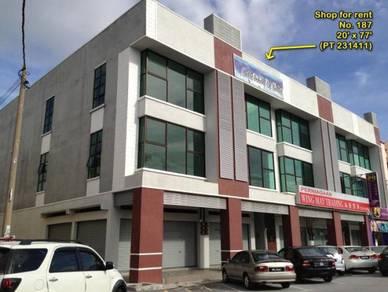 1st Floor Shop to Rent 20' x 77'