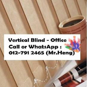 Modern Office Vertical Blind with Install AP89