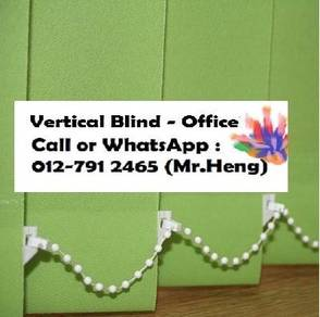 New Office Vertical Blind - with install BO21