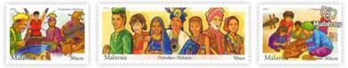 Mint Stamp Malaysia Unity 2002