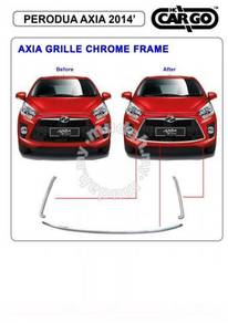 Axia front bumper grill grille chrome frame
