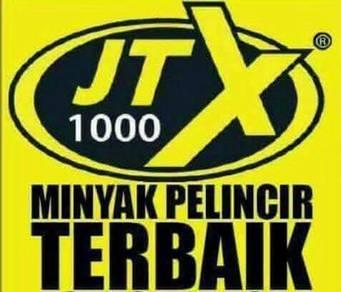 JTX 1000 Minyak Pelincir