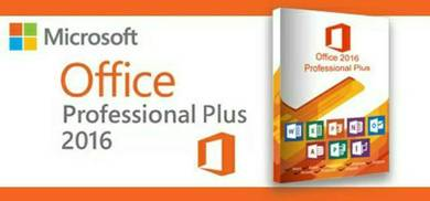 Microsoft Office 2016 (for 5 users) for lifetime