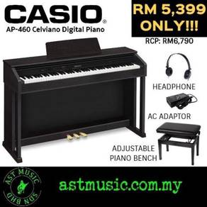 Casio Celviano AP-460 ap460 Ap460 Digital Piano-BK