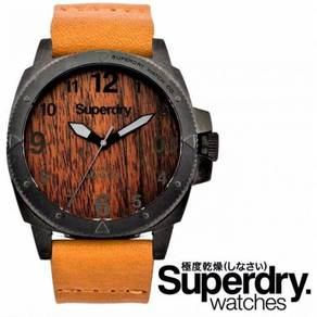 Superdry Trident Wood Mens Watch SYG161T