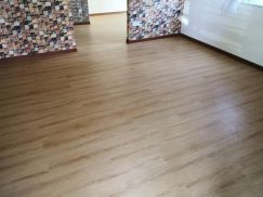 Vinyl Floor Lantai Timber Laminate PVC Floor M348