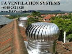 17QFGM FA (US) Solar Powered / Wind Air Ventilator