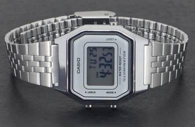 Casio Lady Digital Vintage Retro Watch LA680WA-7DF