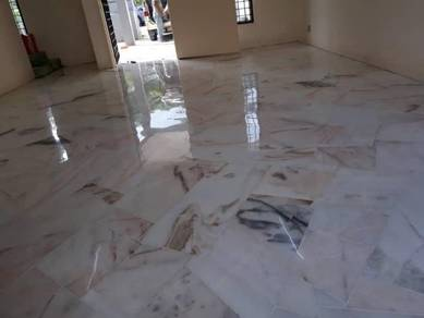Terazzo Marble and Parquet Polisj