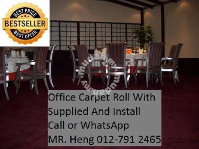 Natural OfficeCarpet Rollwith install M48L