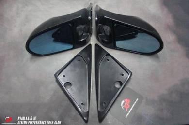 Side Mirror Set Spoon Evo 3 Wira Satria Carbon
