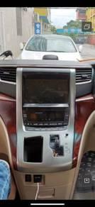 Toyota vellfire alphard 08-14 android player gps