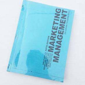 Textbook Marketing Management