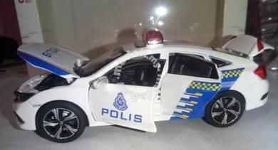 Diecast 1.32 honda civic polis
