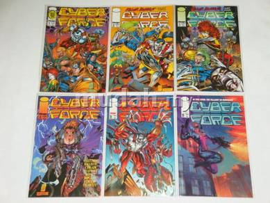 CYBERFORCE comics. 1993 series comics. 1set