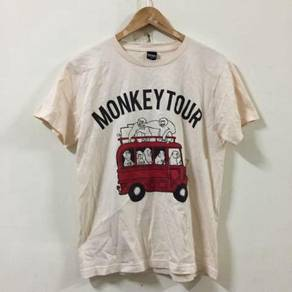 Graniph Monkey Tour Size S Shirt