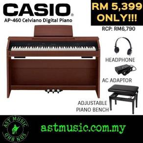 Casio Celviano AP-460 ap460 88 Keys Piano -Brown