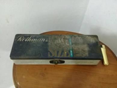 119 Kotak rothmans tin vintage antik