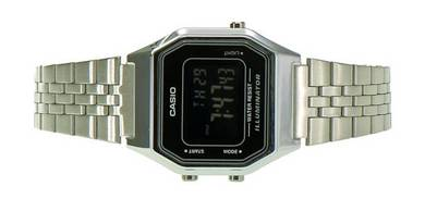 Casio Lady Digital Vintage Retro Watch LA680WA-1BD