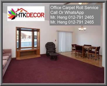 Classic Plain Design Carpet Roll with Install W7PB