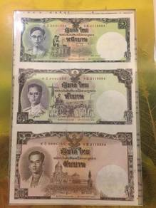 Thailand Uncut Notes - 3 in 1 With Folder