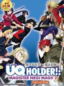 DVD ANIME UQ Holder Magister Negi Magi 2 Vol.1-12