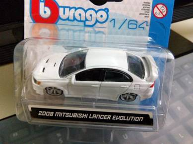 Burago 2008 Mitsubishi Lancer Evolution