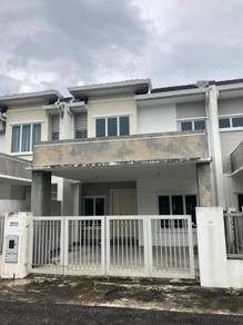 Double Storey intermediate for sell at Tabuan Tranquility