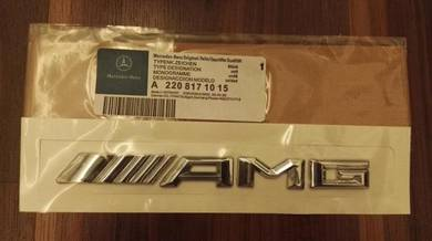 Mercedes Benz AMG Boot Emblem New Design 3D
