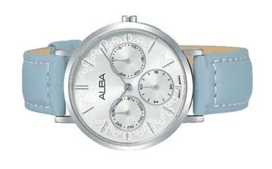 Alba Ladies Multi Hand Leather Watch VD75-X117SSL