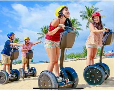 Segway gogreen eco adventure sentosa cheap ticket